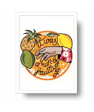 Run-by fruiting print by la...