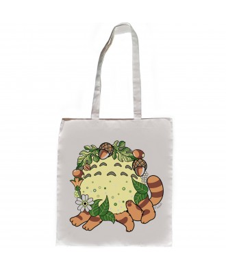 Totoro tote bag by la barbuda