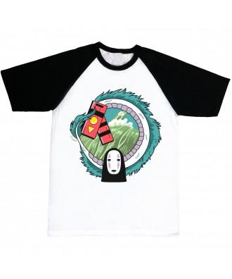 Camiseta mangas negras Chihiro