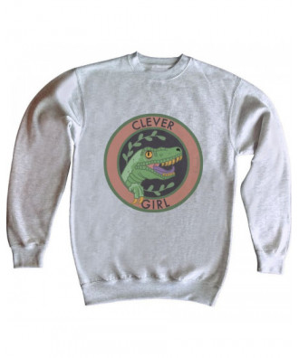Clever Girl sweatshirt by...