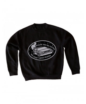 DeLorean sweatshirt by la...