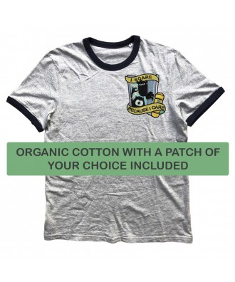 Organic Cotton heather grey...