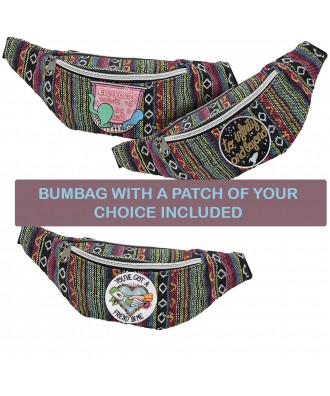 Bumbag with a patch of your...