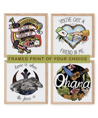 Framed print of your choice