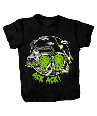 Ack Ack T-shirt by la barbuda