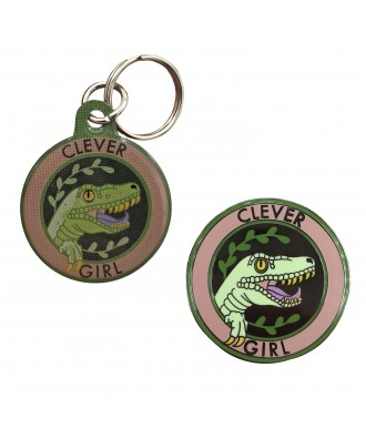 Clever Girl pin + chapa...