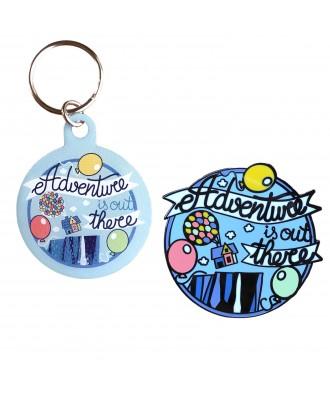 Adventure pin +...