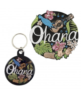 Ohana patch + personalized...