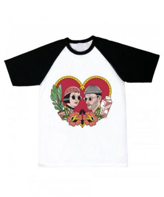 Camiseta mangas negras León...