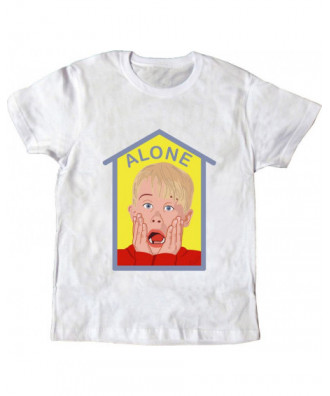Alone white T-shirt by la...