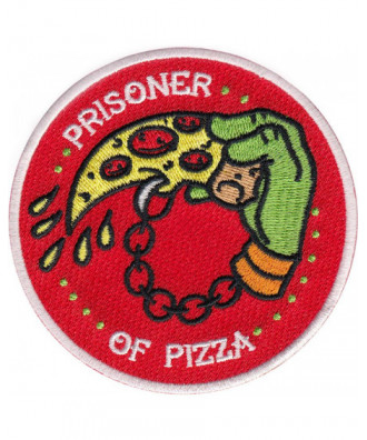 Parche Prisoner of Pizza