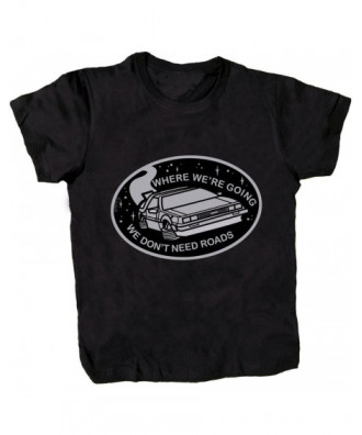 DeLorean black T-shirt by...