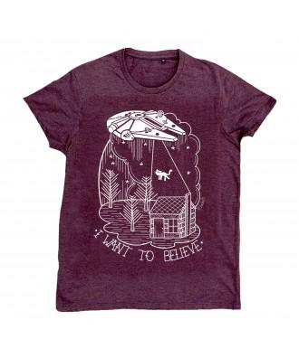 Camiseta I want to Believe...