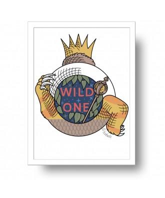 Lámina Wild One