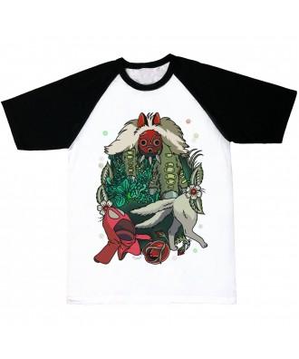 Mononoke T-shirt by la barbuda