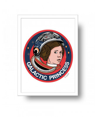 Galactic Princess print by...