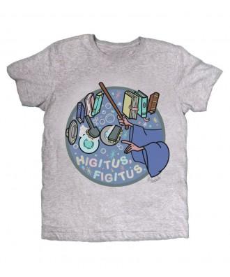 Camiseta gris Higitus Figitus