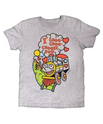 Camiseta gris I choo choo...