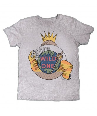 WIld One grey T-shirt by la...