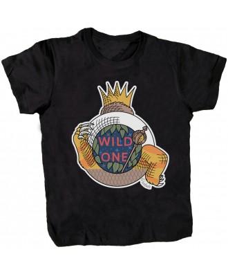 Camiseta negra Wild One