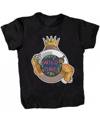 Wild One black T-shirt by...