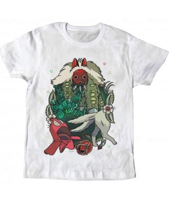Camiseta blanca Mononoke
