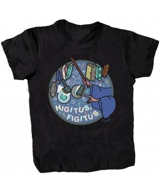 Camiseta negra Higitus Figitus