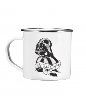 Taza metálica I am your coffee