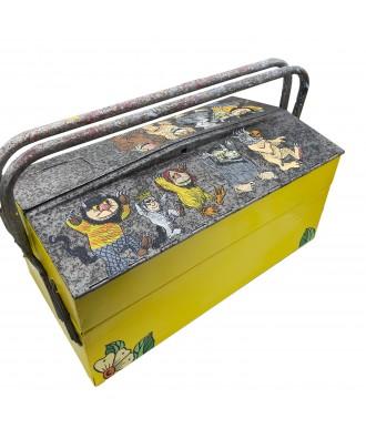 Vintage metal tool box Wild...