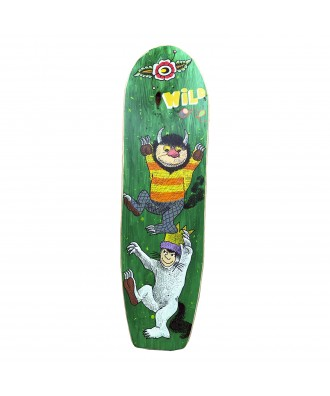Hand Painted Wooden Skate...