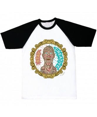 Camiseta Stay Creative cabezón