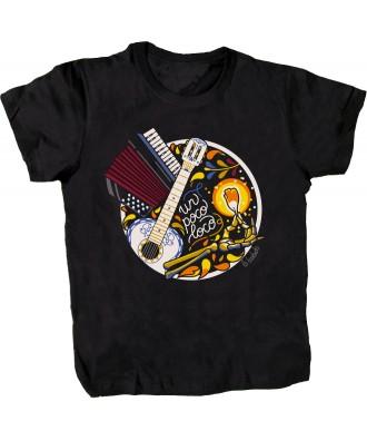 Un poco loco black T-shirt...