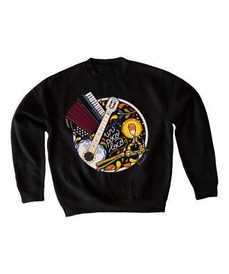 Un poco loco black sweatshirt