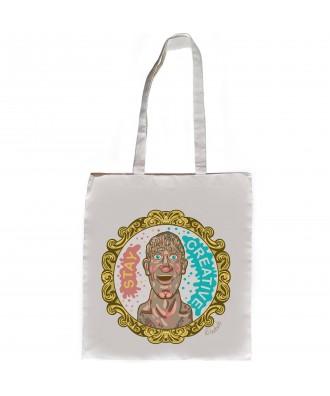 Stay Creative Head tote bag...