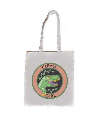 Clever Girl tote bag by la...