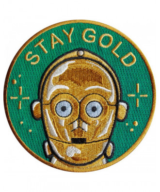 Parche Stay Gold