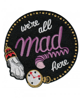 Parche We're all mad here
