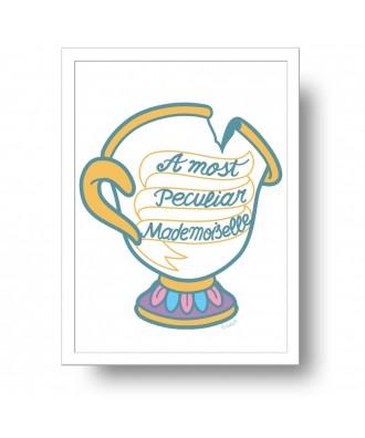 Lámina peculiar taza