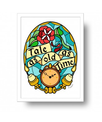 Tale as long as time print...