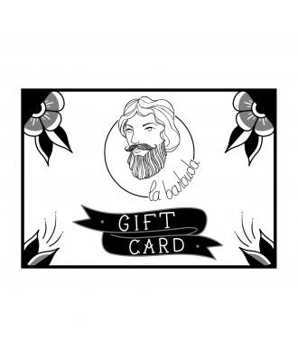 Tarjeta regalo barbuda