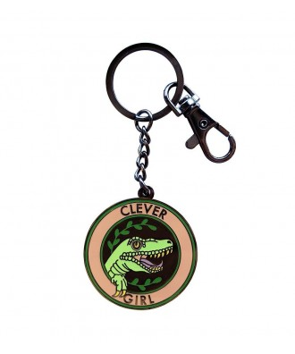 Clever Girl keychain by la...
