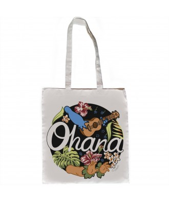 Ohana means family tote bag...