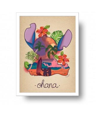 Ohana print by la barbuda