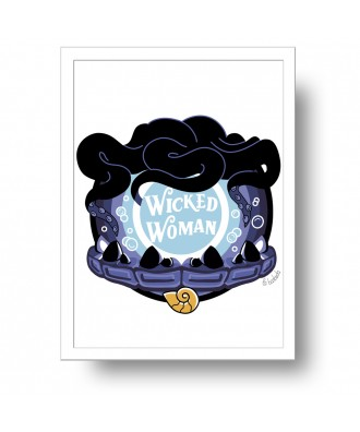 Wicked Woman Ursula print...