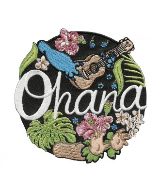 Ohana means family patch