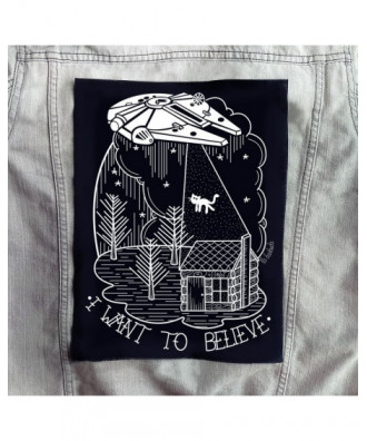 Backpatch I want to Believe
