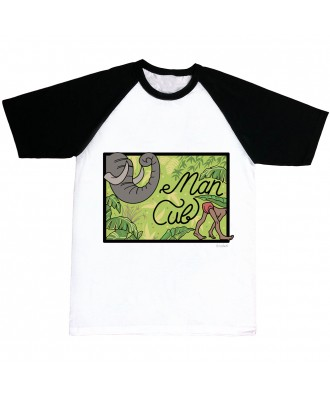 Man Cub jungle T-shirt by...