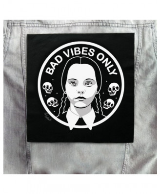Bad Vibes Only backpatch by...