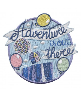 Adventure is out there parche