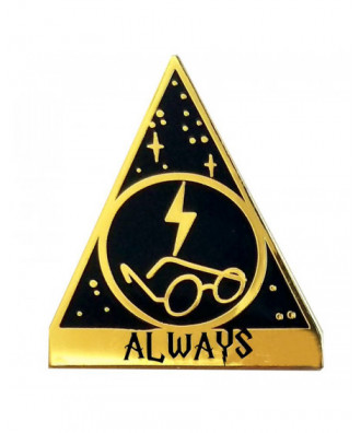 Always lapel pin by la barbuda